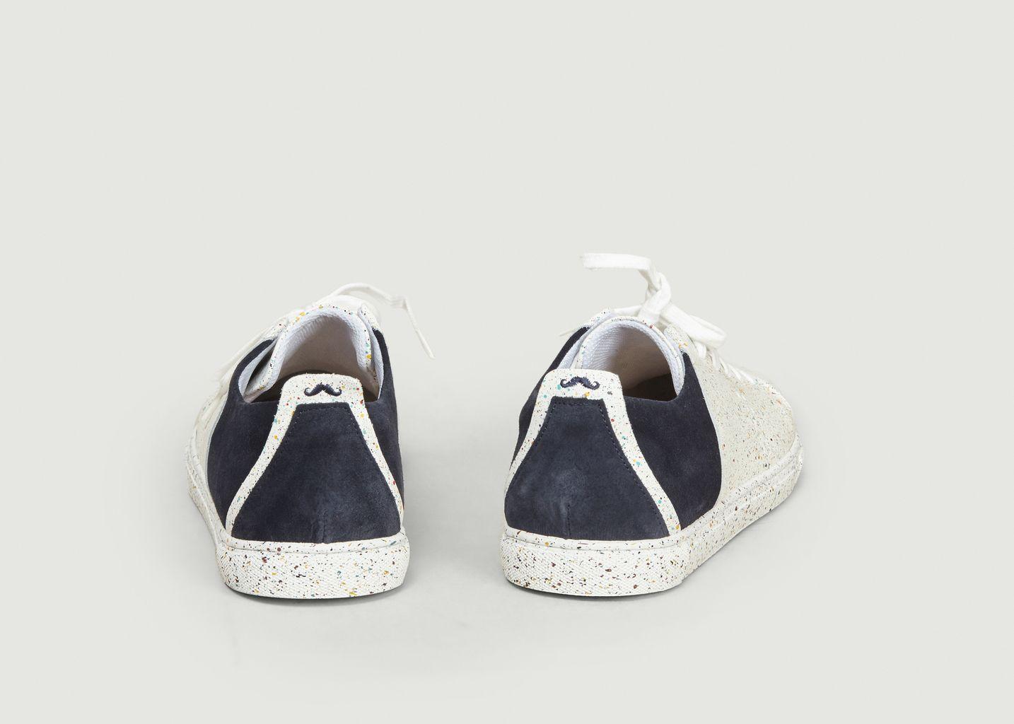 Sneakers René Effet Peinture - M. Moustache