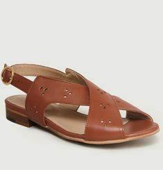 Sandales En Cuir Joséphine B