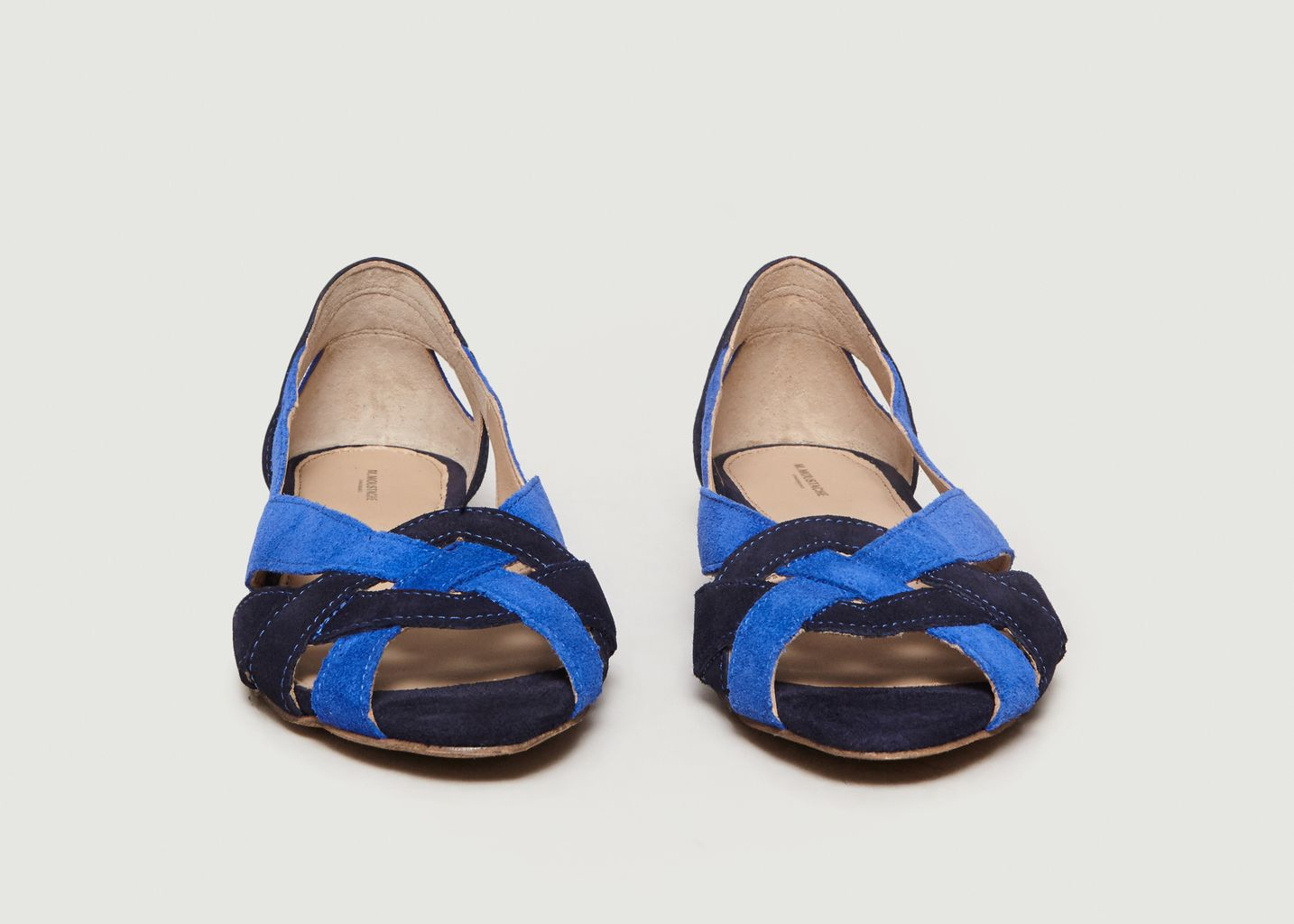 Sandales En Cuir Suédé Clémentine - M. Moustache