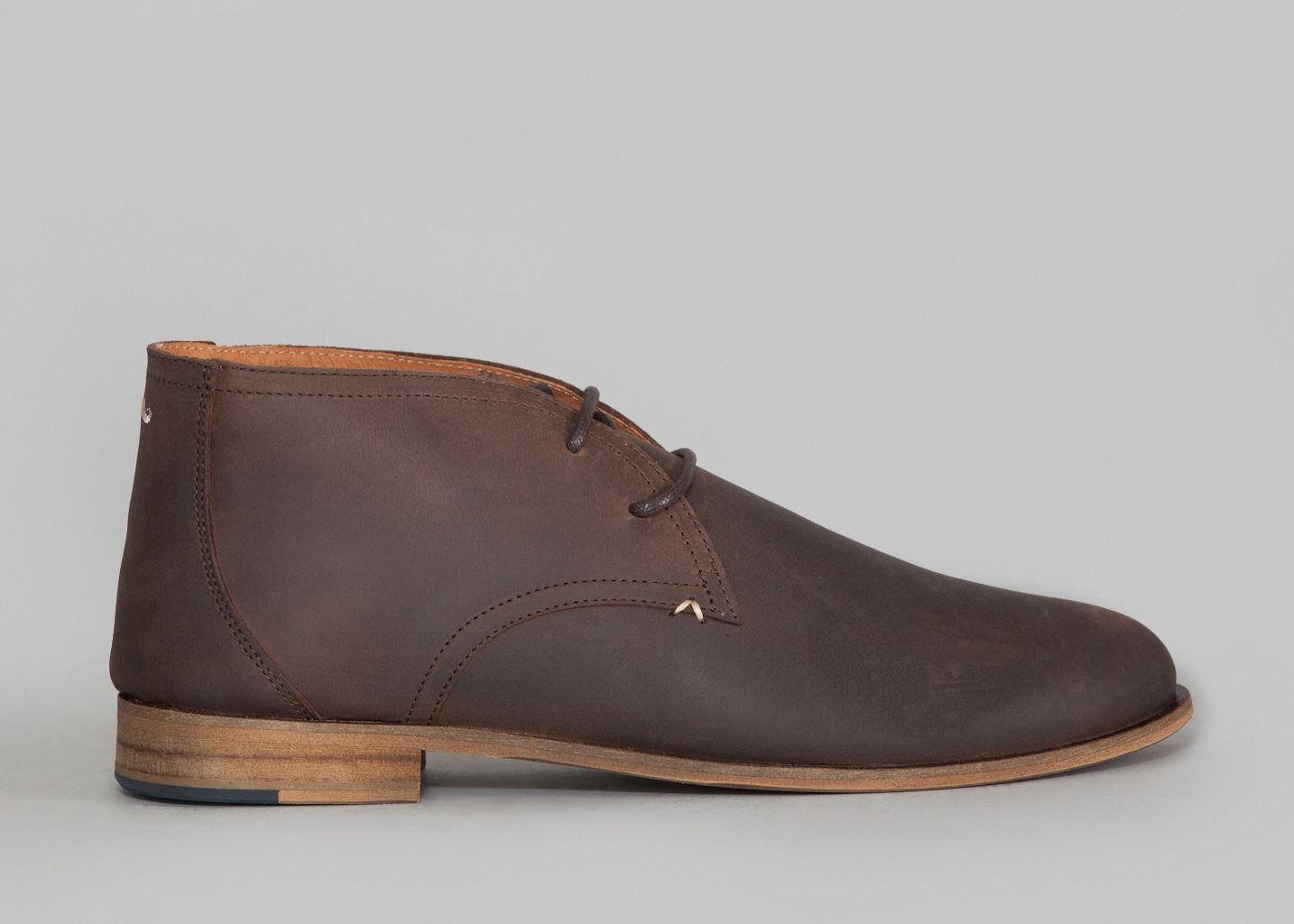 M. Moustache Boots Armand Noir v5zHmOh