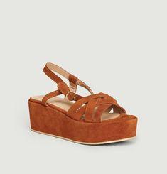 Emma platform sandals