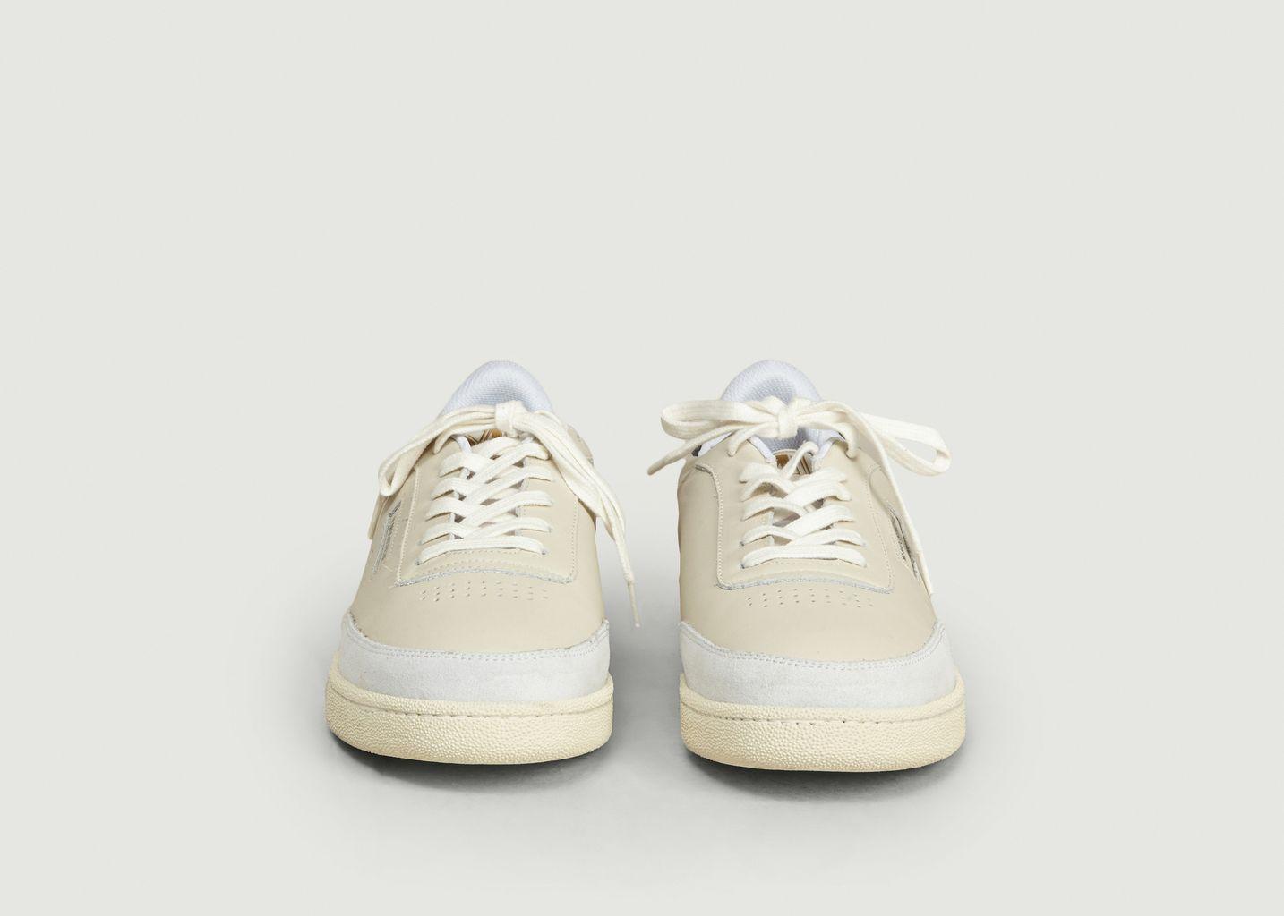 Sneakers en cuir Anatole - M. Moustache