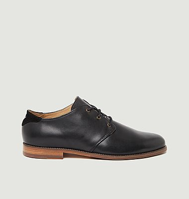 Alphonse leather derbies