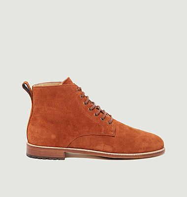 Antoine suede leather desert boots