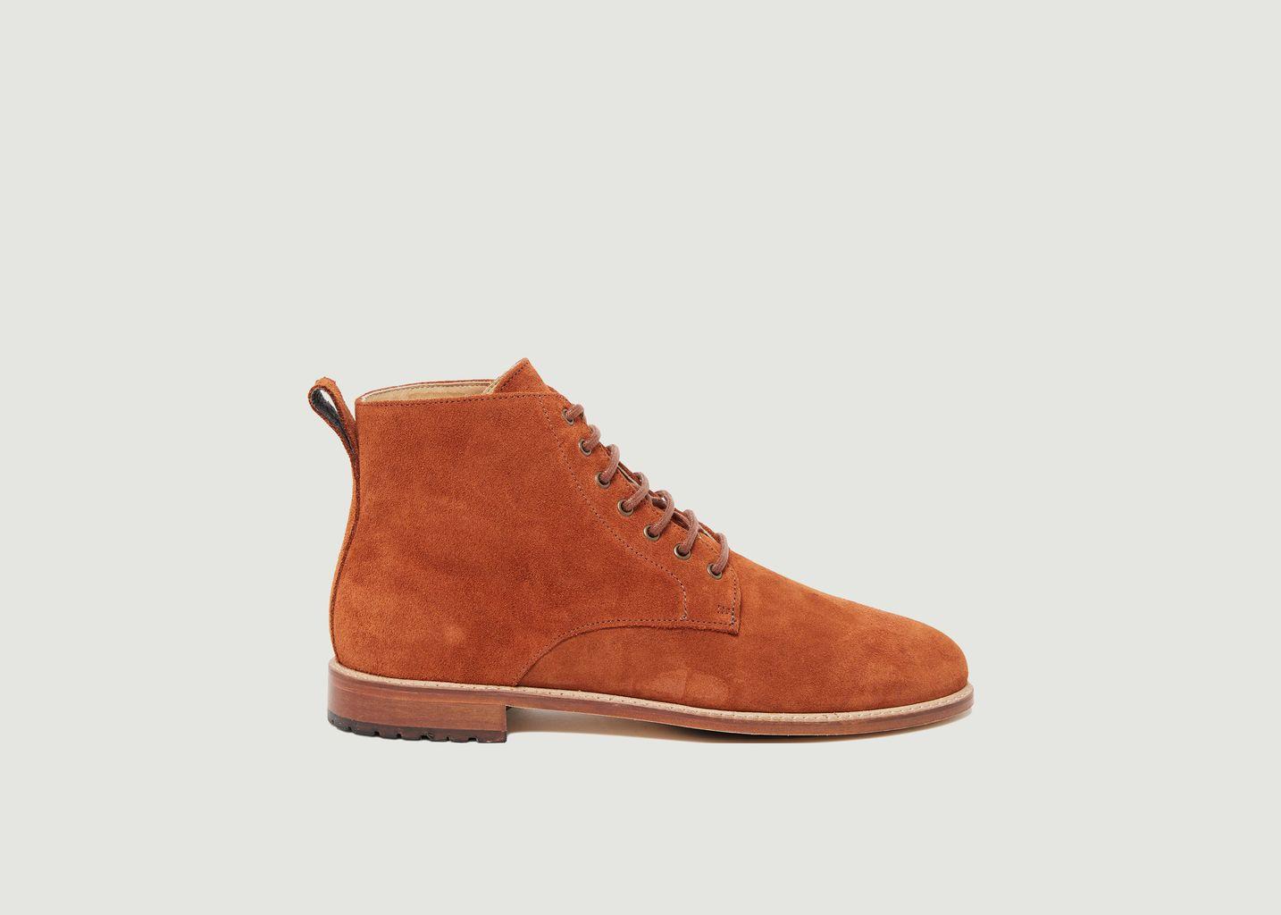 Desert boots en cuir suédé Antoine - M. Moustache
