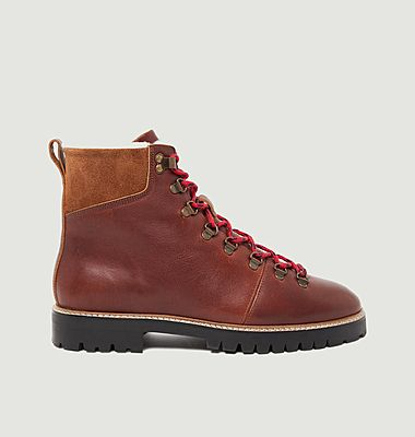 Bottines en cuir pull-up Niels