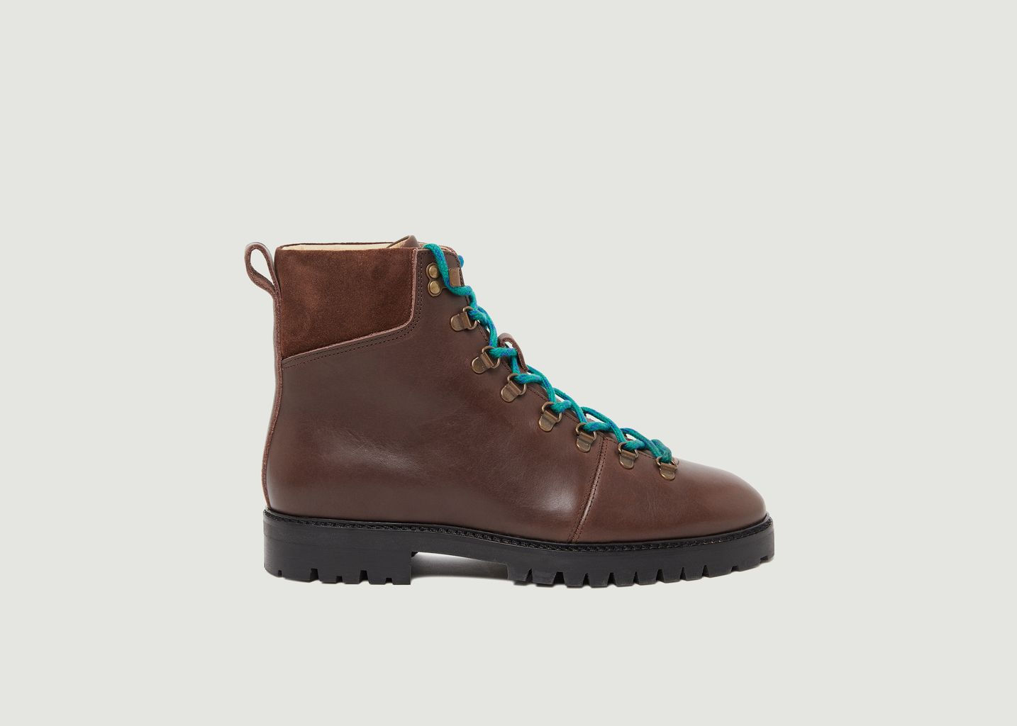 Bottines en cuir pull-up Niels - M. Moustache