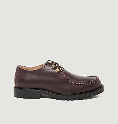 Caroline leather derbies