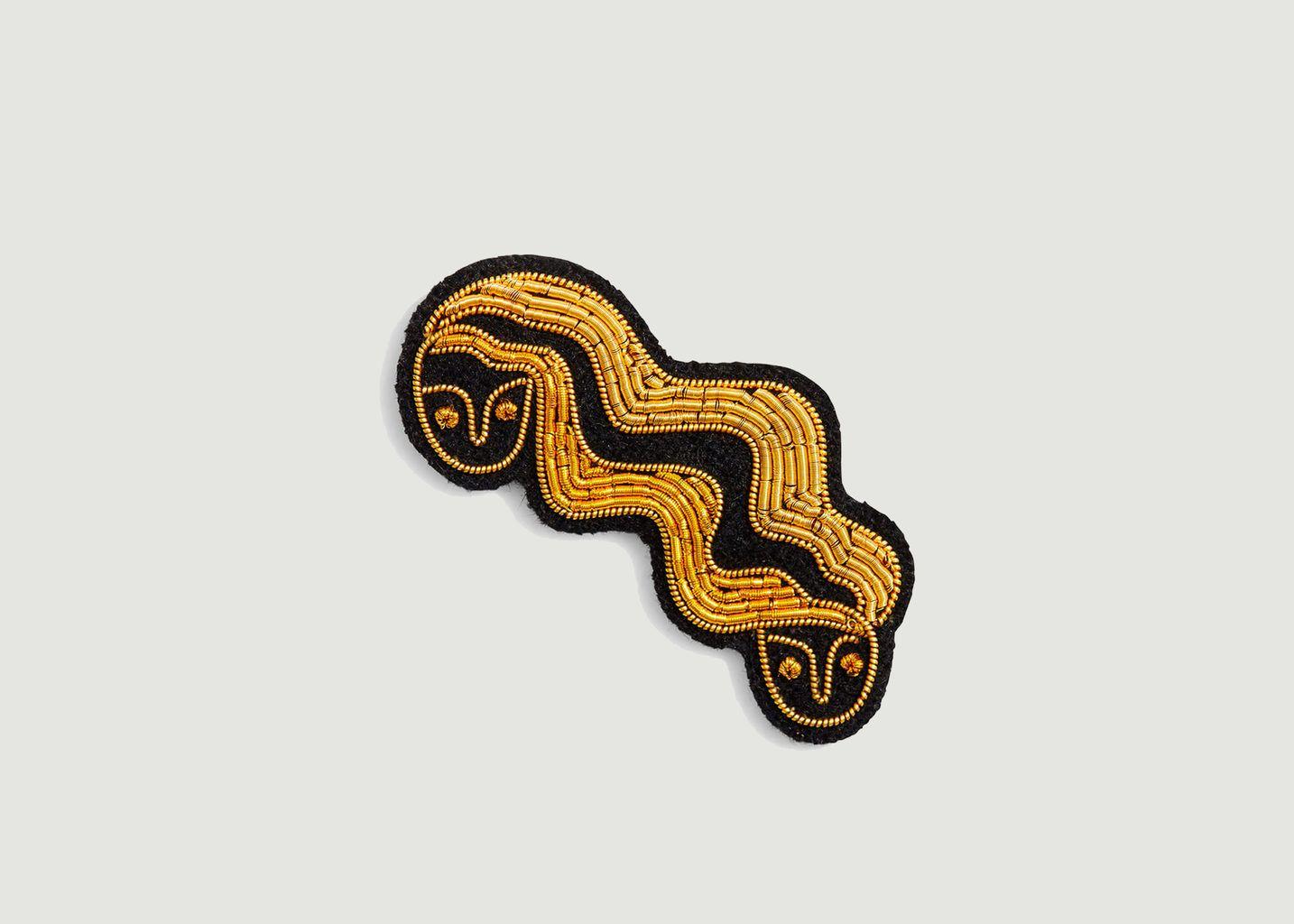 Broche signe astrologique Gémeaux - Macon & Lesquoy