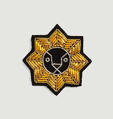 Broche signe astrologie Lion