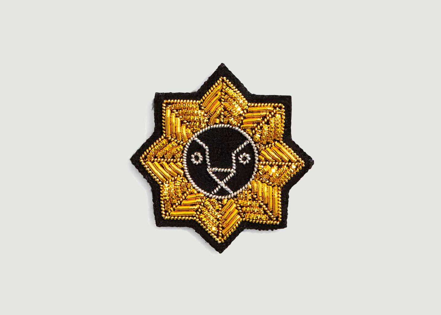 Broche signe astrologie Lion - Macon & Lesquoy