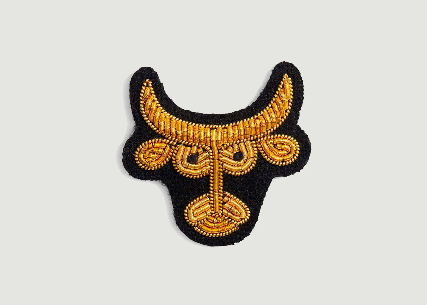 Broche signe astrologique Taureau - Macon & Lesquoy