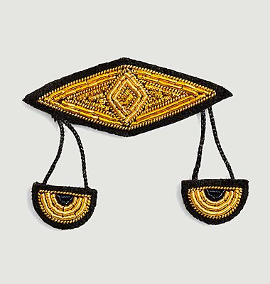 Broche signe astrologique Balance