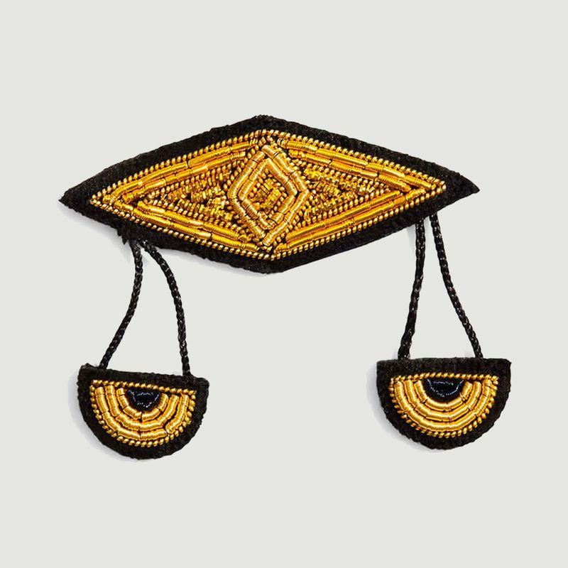 Broche signe astrologique Balance - Macon & Lesquoy