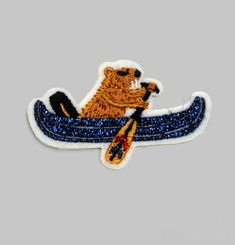 Canoe Beaver Patch