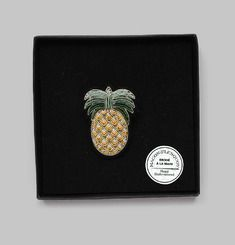 Pineapple Pin Box