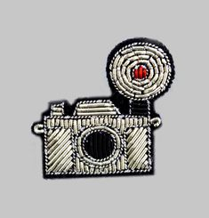 Broche Appareil Photo