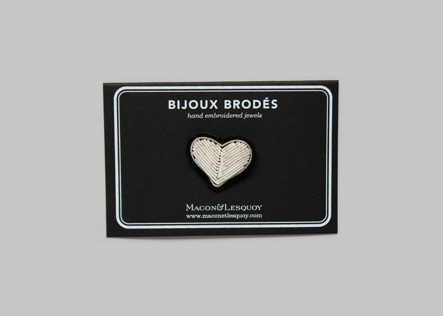 Broche Coeur - Macon & Lesquoy