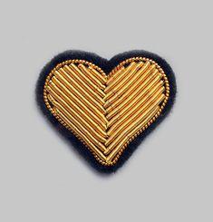 Heat Adhesive Hearts