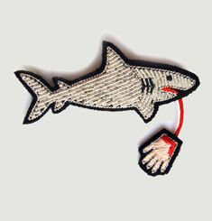 Large Shark Pin