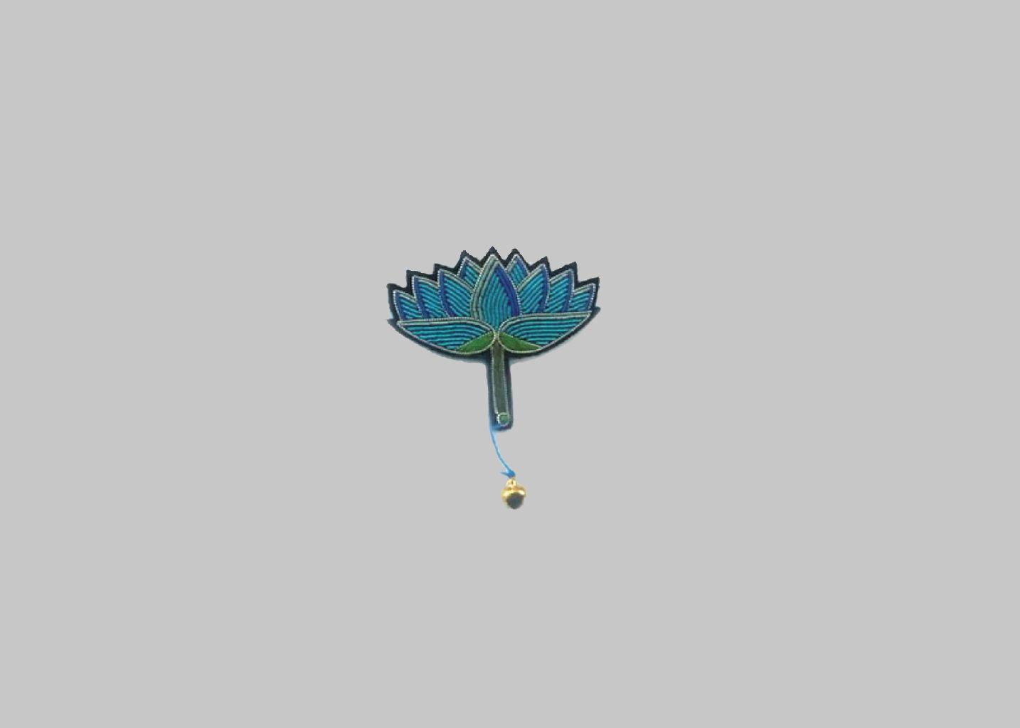Broche Lotus - Macon & Lesquoy