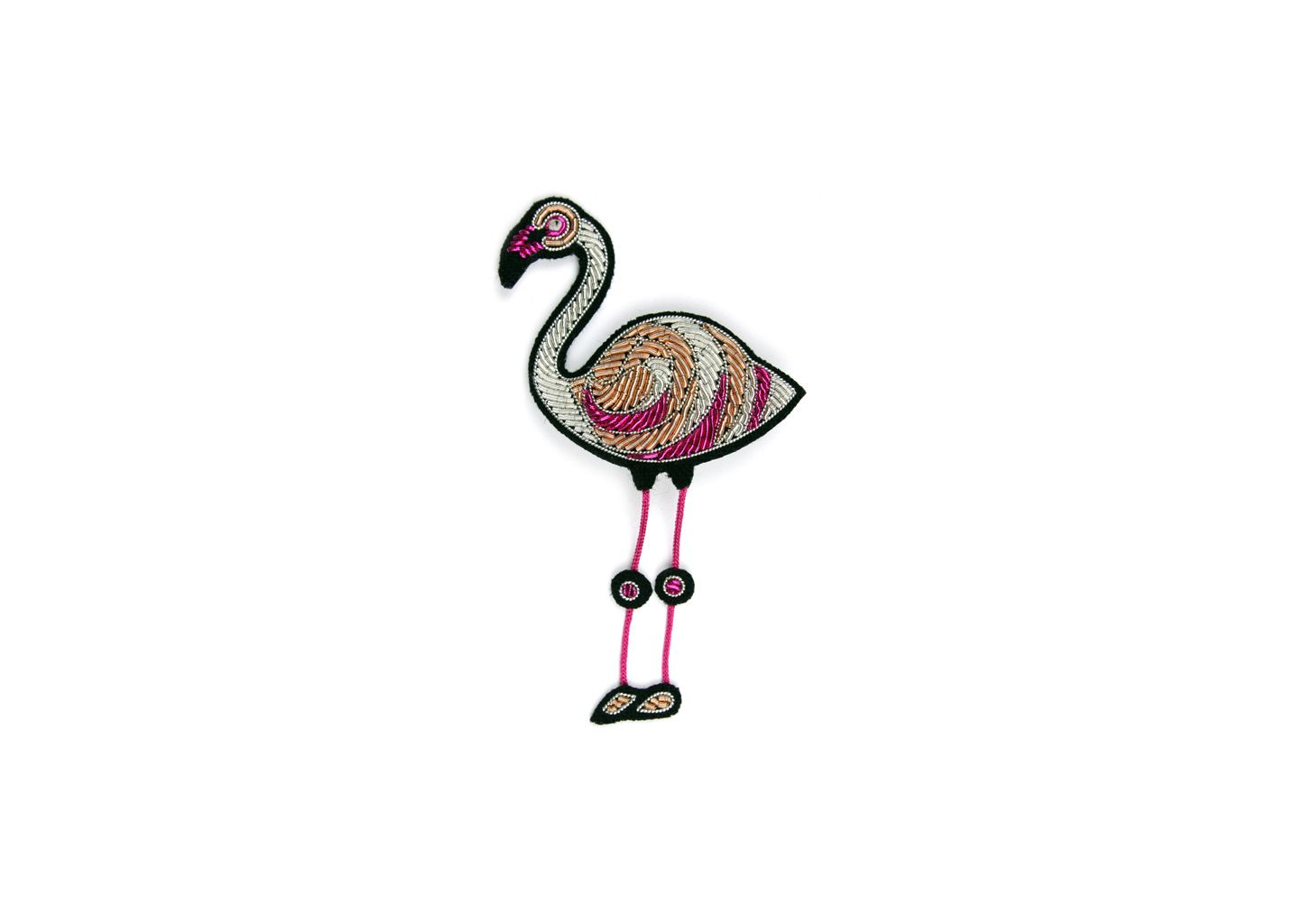 Broche Flamant Rose - Macon & Lesquoy