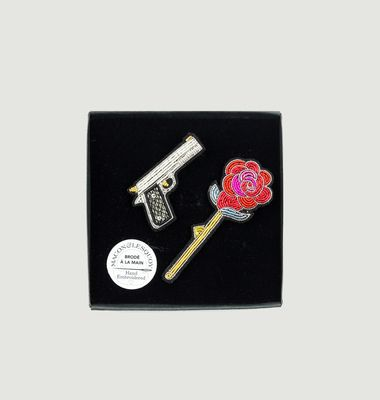 Guns n' Roses Brooch