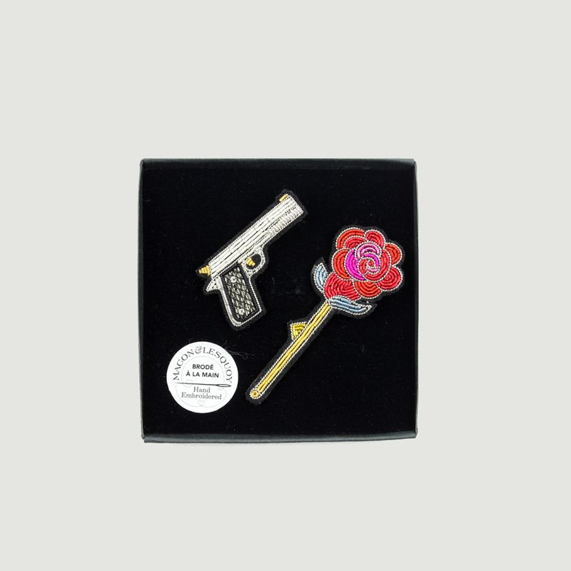 Broche Gun'n roses - Macon & Lesquoy