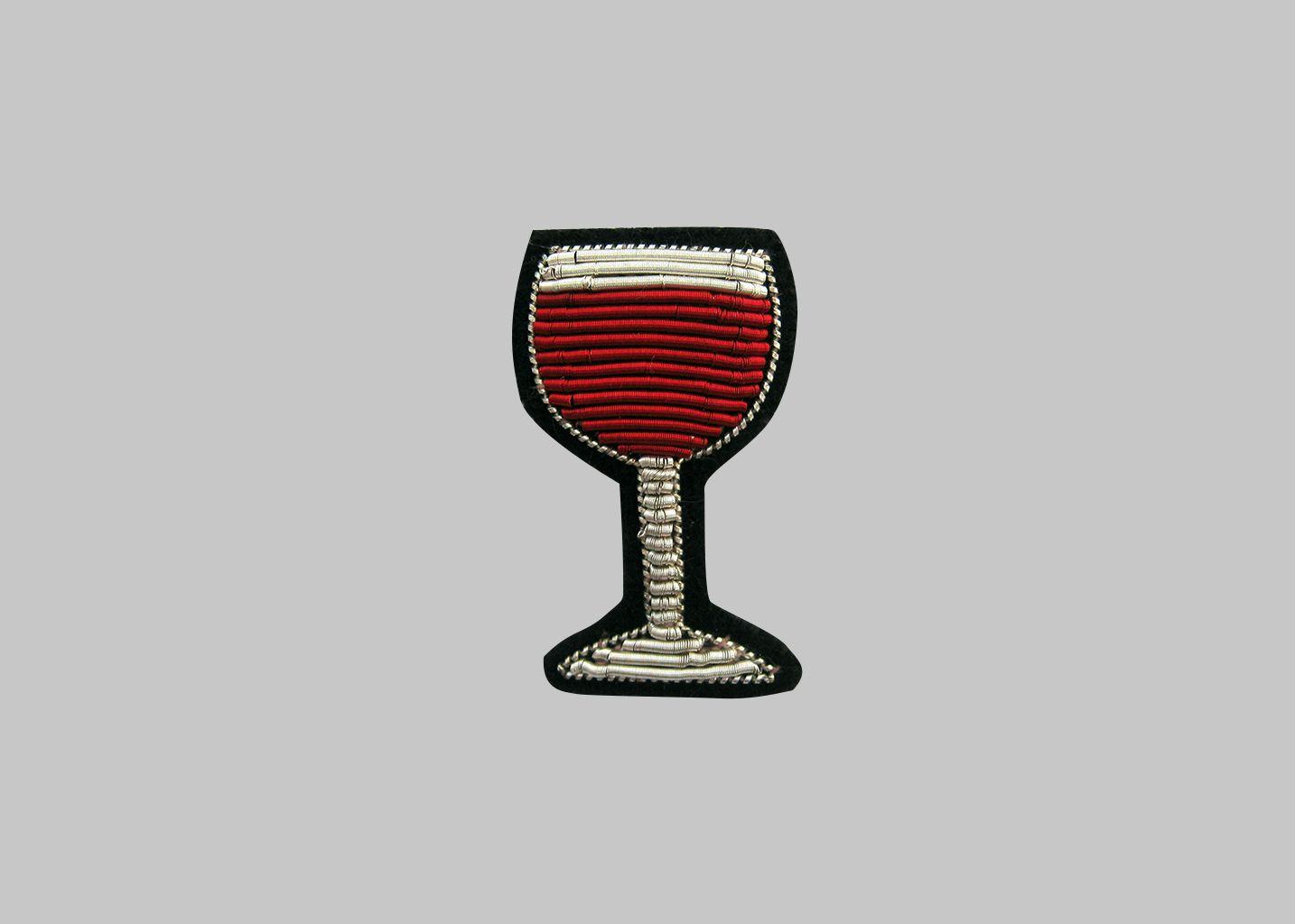 Broche Verre de Vin - Macon & Lesquoy