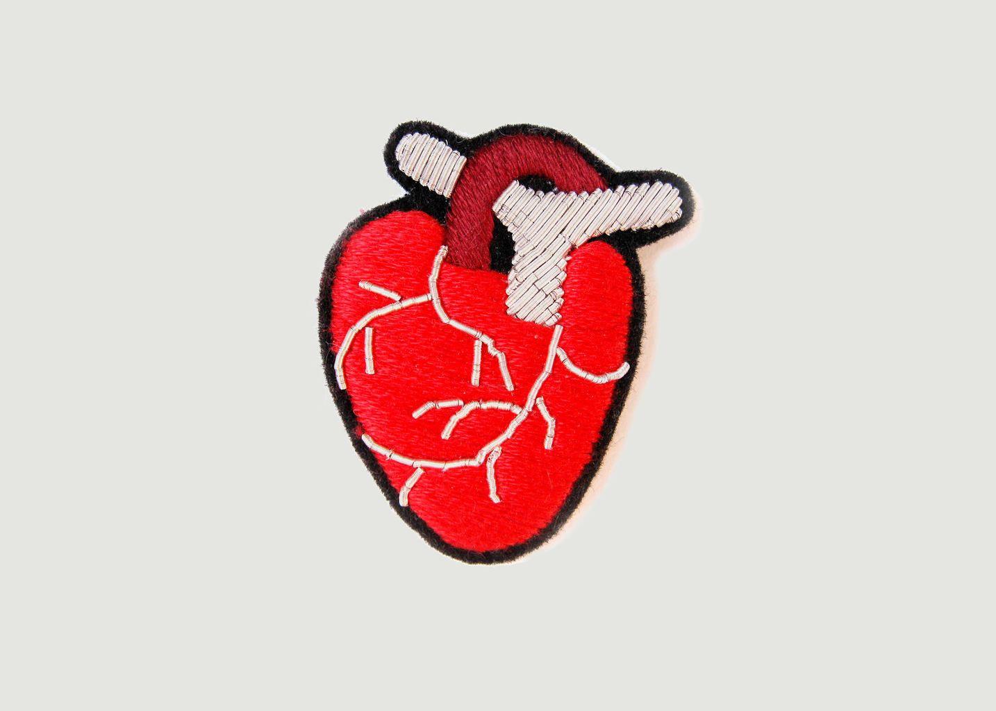Broche Coeur Anatomique - Macon & Lesquoy