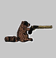 Killer Raccon Patches