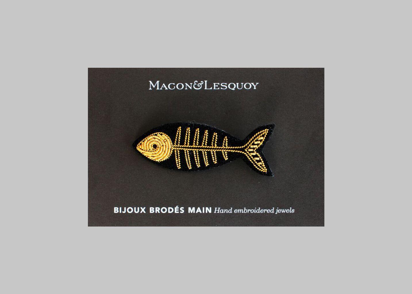 Broche Poisson - Macon & Lesquoy