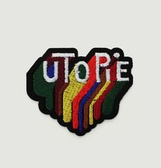 Utopie Embroidered Badge