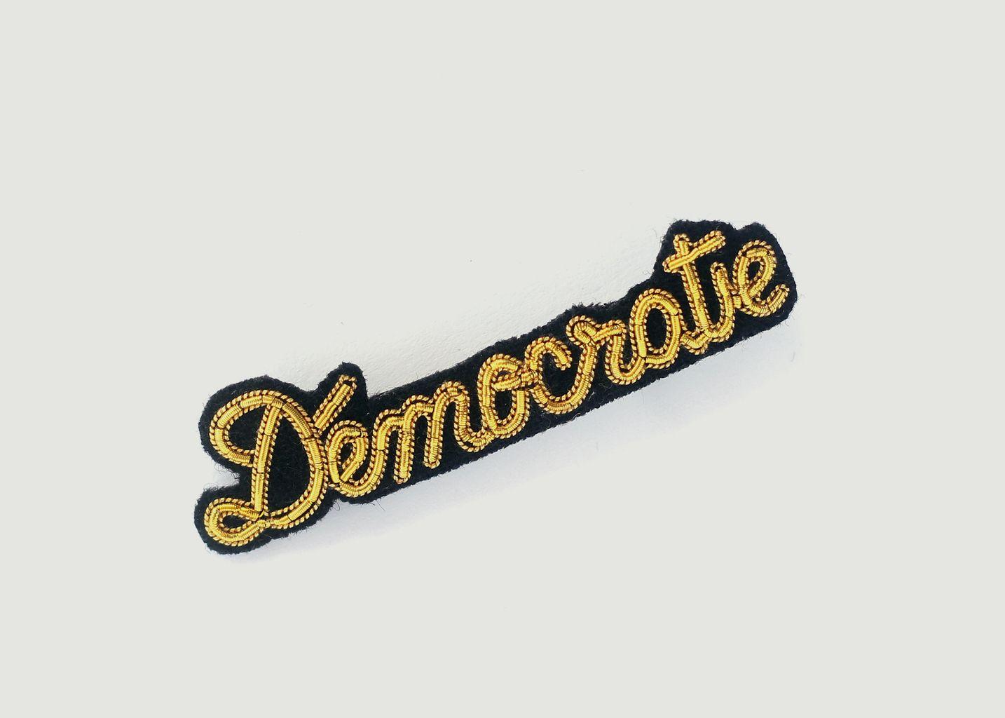 Broche Démocratie - Macon & Lesquoy