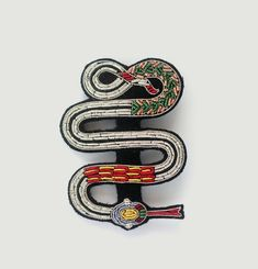 Broche Serpent