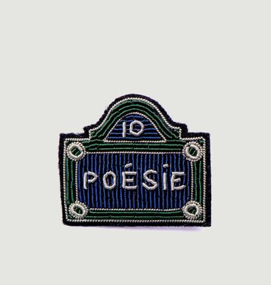 Street Sign Brooch