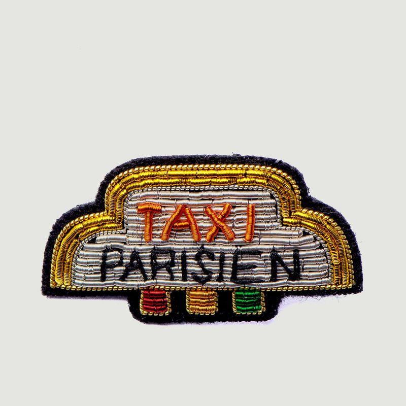 Broche Brodée Taxi Parisien - Macon & Lesquoy