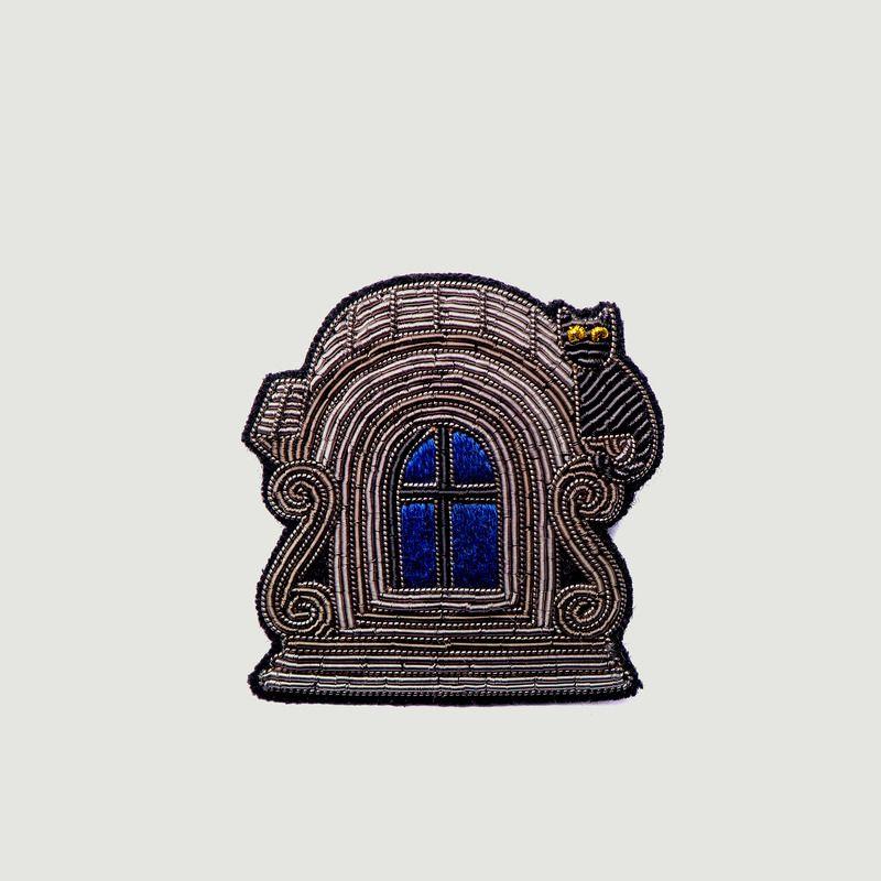 Broche Brodée Fenêtre Lucarne - Macon & Lesquoy