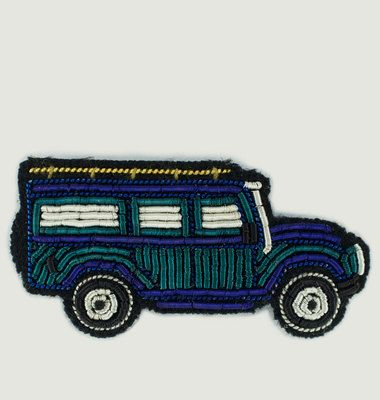 Broche Brodée Jeep