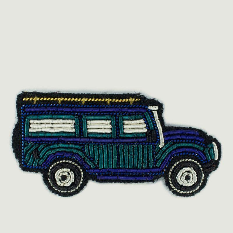 Broche Brodée Jeep - Macon & Lesquoy