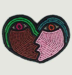 Romantic Heart Brooch