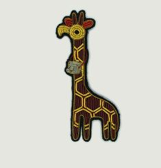 Broche Girafe Photographe