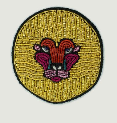 Broche Tête De Lion