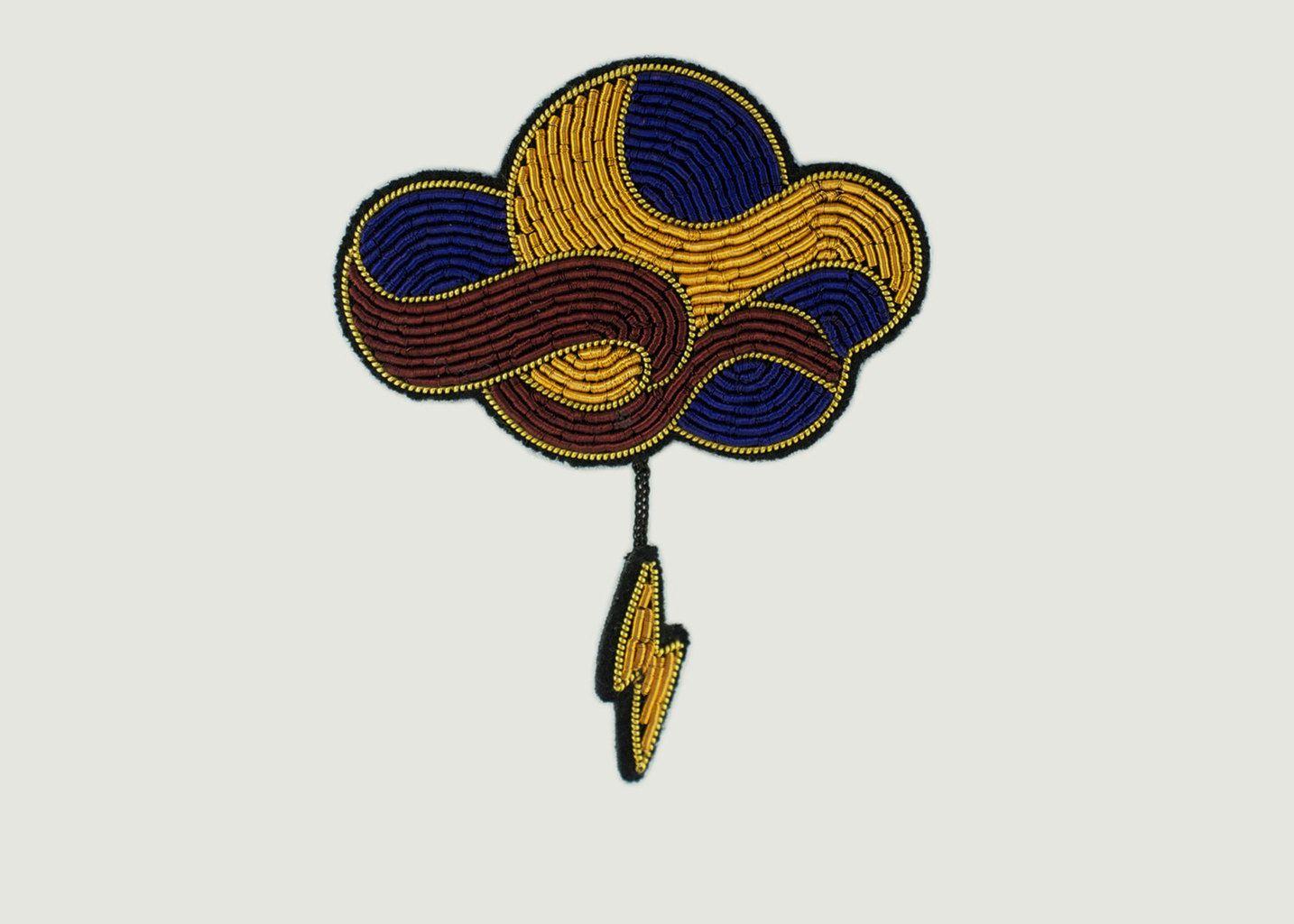 large choix de couleurs et de dessins Style classique Braderie Broche Brodée A Perles Orage
