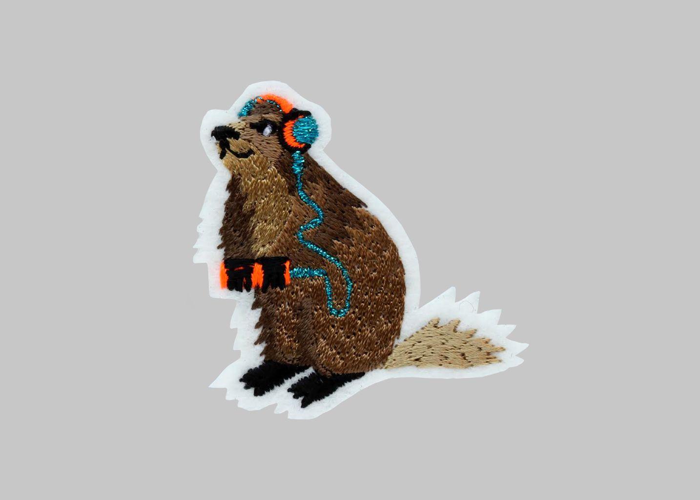 Ecusson Marmotte - Macon & Lesquoy