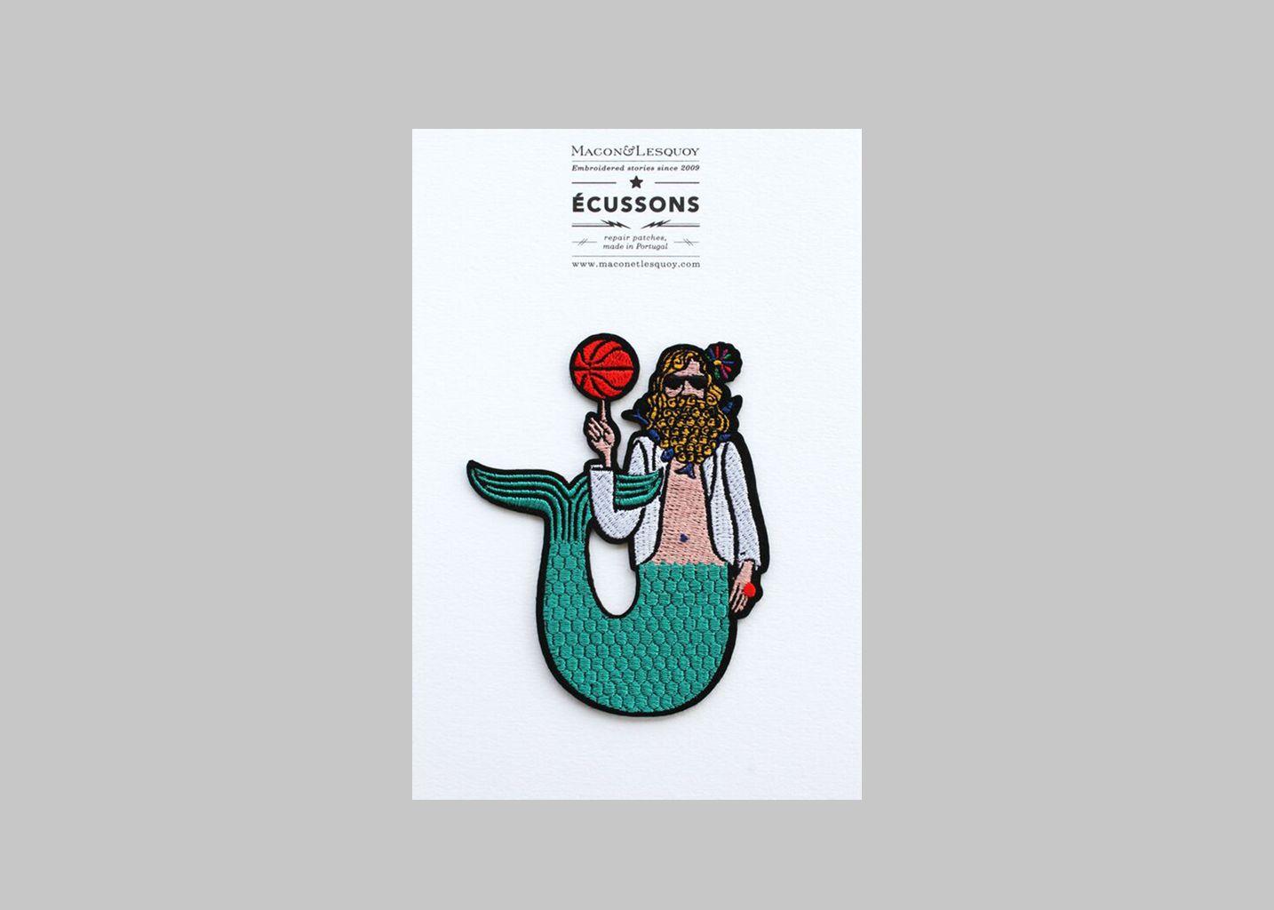 Ecusson Homme Sirene - Macon & Lesquoy