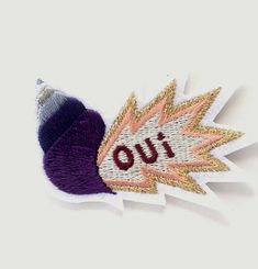 Oui Iron-On Patch