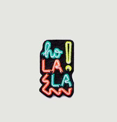 Ho La La ! Iron-On Patch