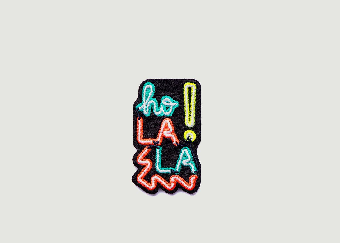 Écusson Ho La La ! - Macon & Lesquoy