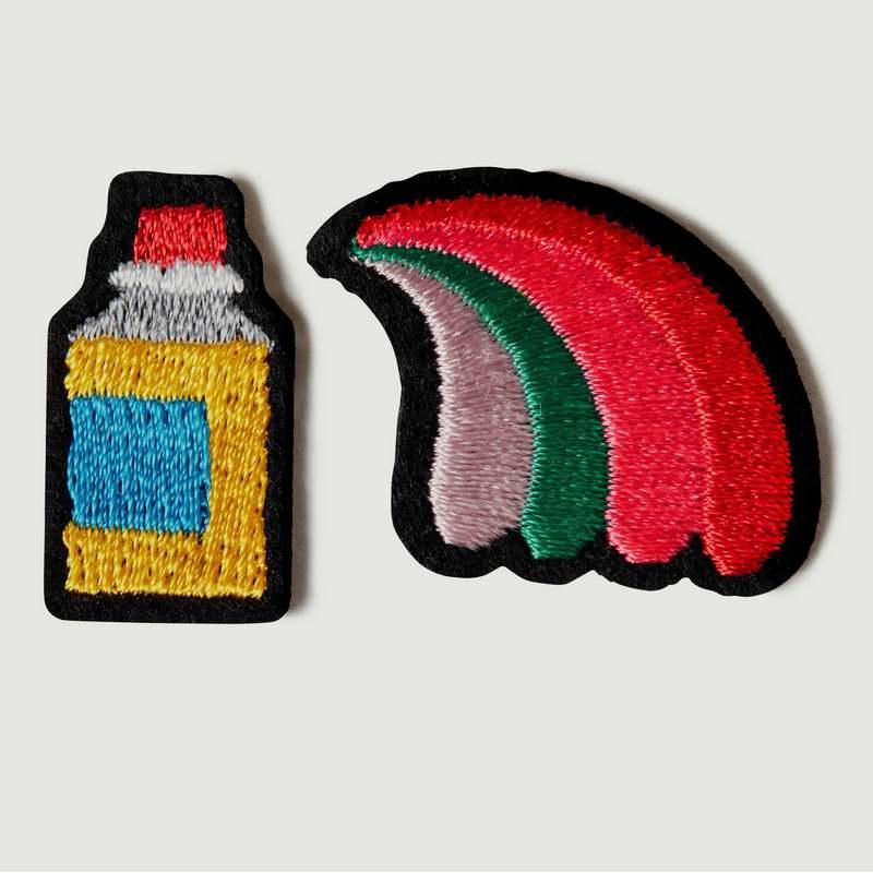 Écusson Spray + Rainbow - Macon & Lesquoy